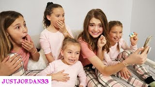 Girls Only Slumber Party! Pranks And Lucky Fortunes  I JustJordan33