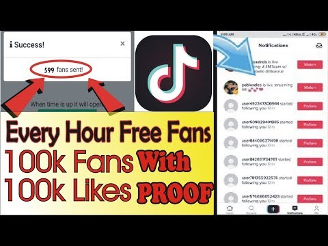 Increase Tiktok Likes And Fans In ONE CLICK !! || Tiktok