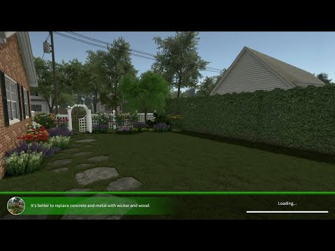 House Flipper: Garden Flipper DLC: Quick Look