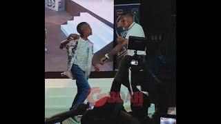 Megabyte 9 Yr Old Boy Who Raps Like Olamide Challenges Small Doctor To Shaku Shaku Dance,&Sing