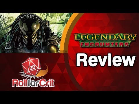Legendary Encounters: A Predator Deck Building Game Review | Roll For Crit