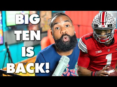 Big Ten football is back with a return to play on this date. Hand Ohio State the trophy?