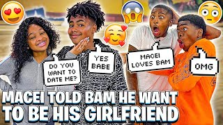 MACEI TOLD BAM SHE BREAKING UP WITH MYKEL & WANTS TO BE HIS GIRLFRIEND!💔