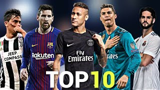Download Video Top 10 Skillful Players in Football 2018 MP3 3GP MP4