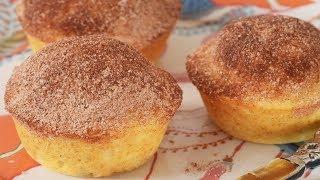 Doughnut Muffins Recipe Demonstration – Joyofbaking.com