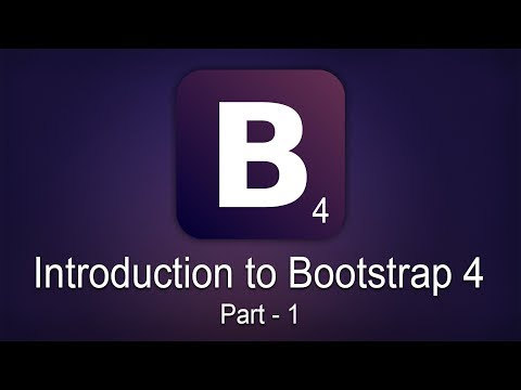 Introduction to Bootstrap 4   Part 1   Eduonix