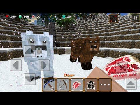 Winter Craft 3 Mine Build Gameplay (HD)