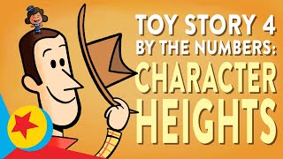 Toy Story 4 Character Heights | Pixar By The Numbers
