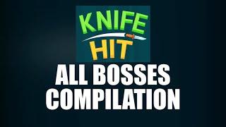 ALL Bosses Compilation   Knife Hit (common, Rare, Legendary, Challenge)