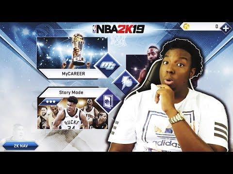 NBA 2K19 IOS GAMEPLAY FIRST LOOKS!! - смотреть онлайн на Hah