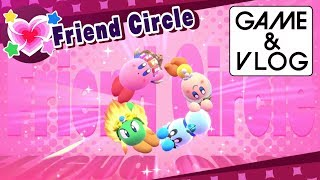 Kirby: Star Allies Direct Feed Gameplay - Friend Circle & Sunset Prelude to King Dedede (1080p)