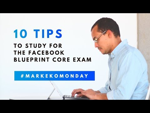 10 Tips to study for the Facebook Blueprint Core Exam - YouTube