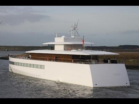 expensive $138 million Venus Yacht (Steve Jobs Yacht)