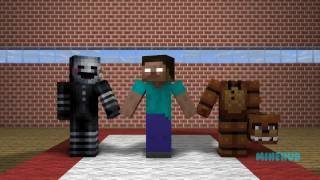 FNAF Monster School: Sports Challenge - Minecraft Animations (Five Nights At Freddy