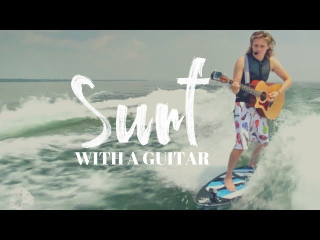 Surfing with a GUITAR!