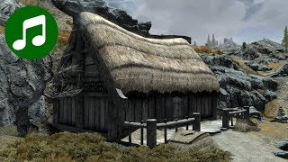 SKYRIM Ambient Music & Ambience 🎵 Lund's Hut (Relaxing Gaming Music | Skyrim Soundtrack | OST)