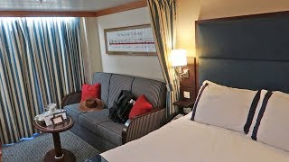 Disney Cruise Week!   Embarkation Day, Deluxe State Room Tour & Rapunzel's Royal Table Dinner!