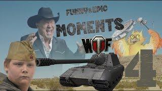 Смешные & эпичные моменты в WOT BLITZ №4