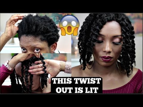 THIS TWIST OUT IS LIT SIS | TWIST OUT TUTORIAL |