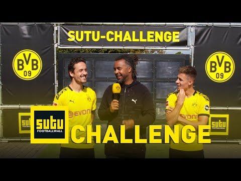 The BVB Sutu Challenge   Thorgan Hazard & Thomas Delaney   Episode 4