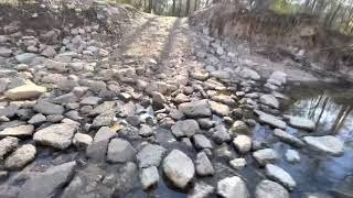 Low Creek crossing on Spring Creek Trail