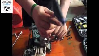 preview picture of video 'Kawasaki KX 125 Kupplung Clutch Demontage MSC-Eichenried'
