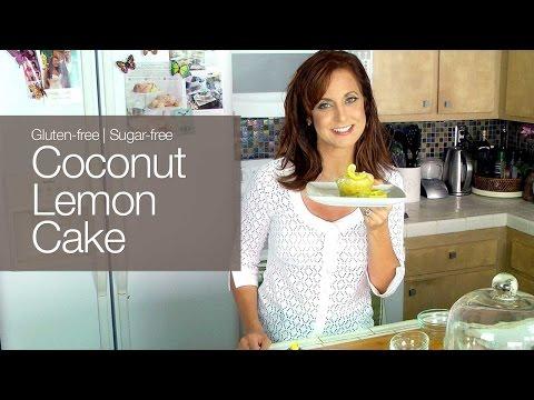 Video Gluten-free Sugar-Free Coconut Lemon Cake -  kimTV