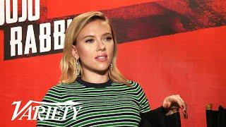 'Jojo Rabbit' Cast Says It's Okay to Make Fun of Hitler