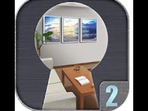 Room Escape Contest 2 Level 1 2 3 4 5 6 7 8 9 10 Walkthrough (ABC escape games)