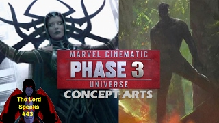 The Lord Speaks #43: MCU Phase 3 Concept Arts
