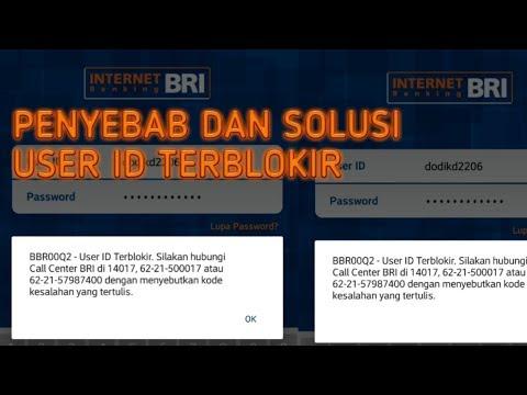 penyebab user id internet banking terblokir dan ini solusinya