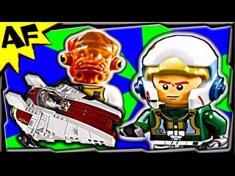 Vidéo LEGO Star Wars 75003 : A-wing Starfighter