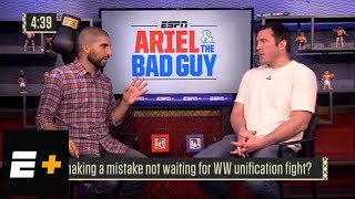 Ariel Helwani, Chael Sonnen unhappy with UFC welterweight title picture | Ariel & The Bad Guy | ESPN