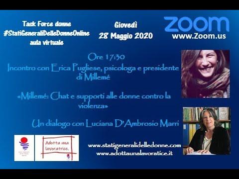28/05/2020 Intervista a... Erica Pugliese di Millemé - #StatiGeneraliDelleDOnne