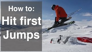 HOW TO JUMP ON SKIS   PART 2