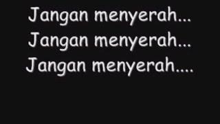 D'masiv Jangan Menyerah (lirik)