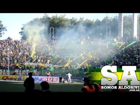 """""""Aldosivi, fiesta todo el año (Lo mejor del 2012) // Www.SomosAldosivi.Com.Ar"""" Barra: La Pesada del Puerto • Club: Aldosivi"""