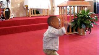 Jeremiah the Prophet! Toddler Preaches Sunday Morning Service