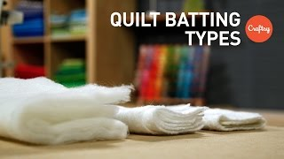 Quilt Batting Types | Quilting FAQs with Amy Gibson