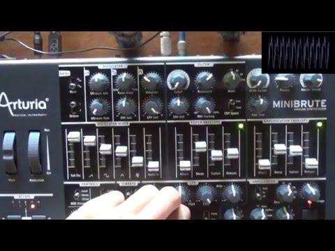 Cosa è un sintetizzatore ? : come utilizzare un synth, tutorial con minibrute (Mark Walter)
