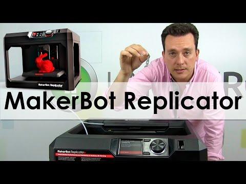 Conoce MakerBot Replicator+, la impresora 3D poderosa y fácil de usar