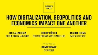 How Digitalization, Geopolitics And Economics Impact One Another