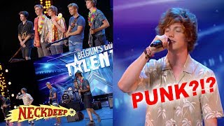 Got Talent goes PUNK!! (Motion to Maintain - Gold Steps)