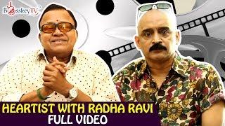 Rajinikanth is a creator himself - Radha Ravi Exclusive Interview | Heartist Full Video | Bosskey TV