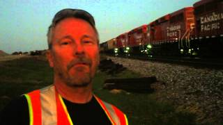 CP Rail Interview With Engineer & Conductor