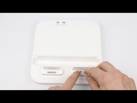 Review: UltraDock 2 Dockingstation für iPhone/ iPad/ iPod in weiß von PhotoFast im Test
