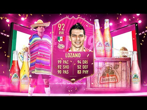 YOU NEED THIS CARD! 92 SPEEDSTER FUTTIES LOZANO PLAYER REVIEW! FIFA 19 Ultimate Team