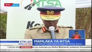 NTSA imekabidhi vifaa vya kutekeleza usalama kwa idara ya polisi