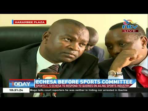 Sports CS appears before sports committee to respond to queries on ailing Sports industry
