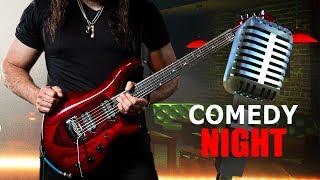 Playing Guitar on Comedy Night